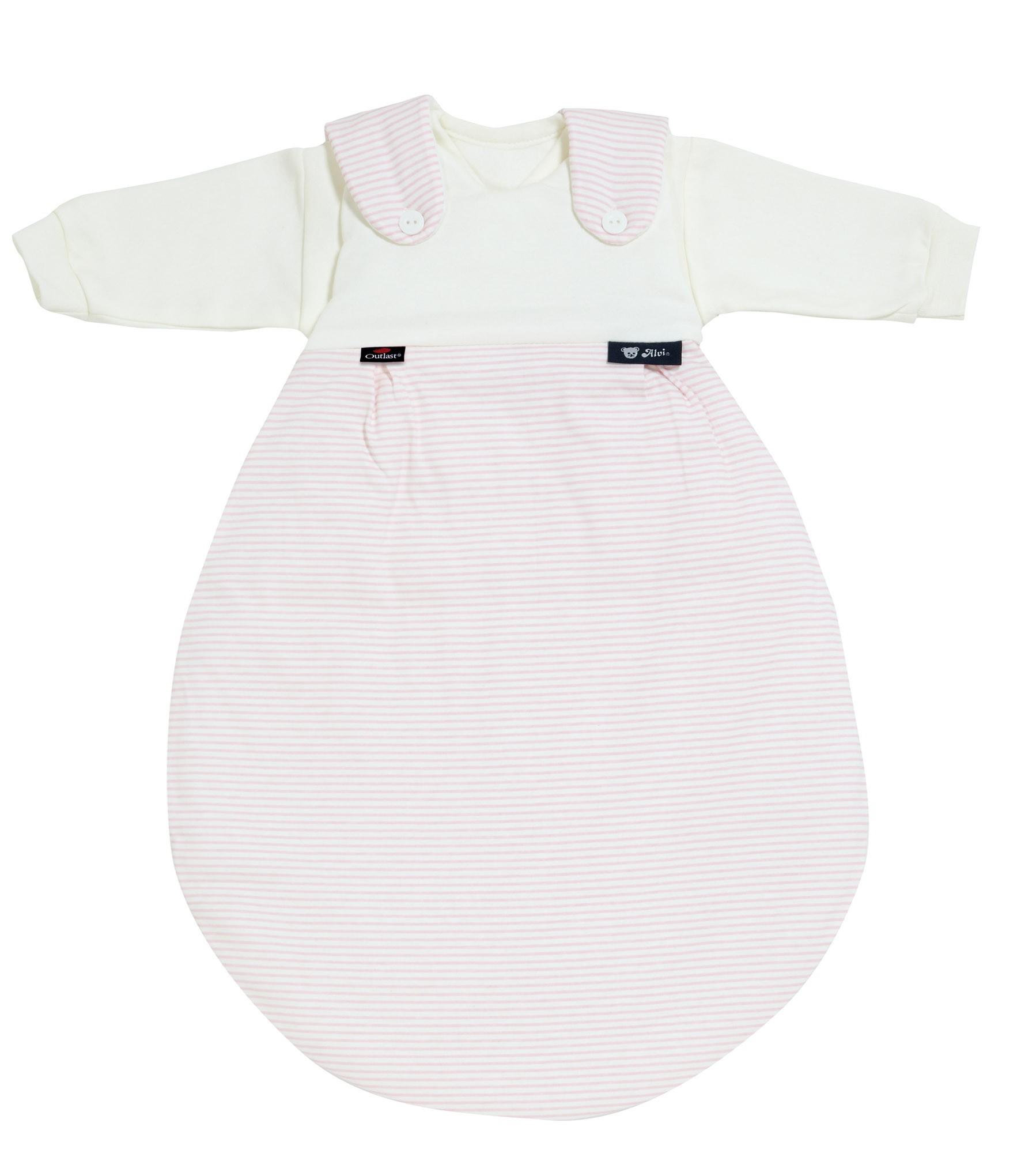 Alvi Baby Mäxchen Outlast Schlafsack 111-2 Streifen rosa