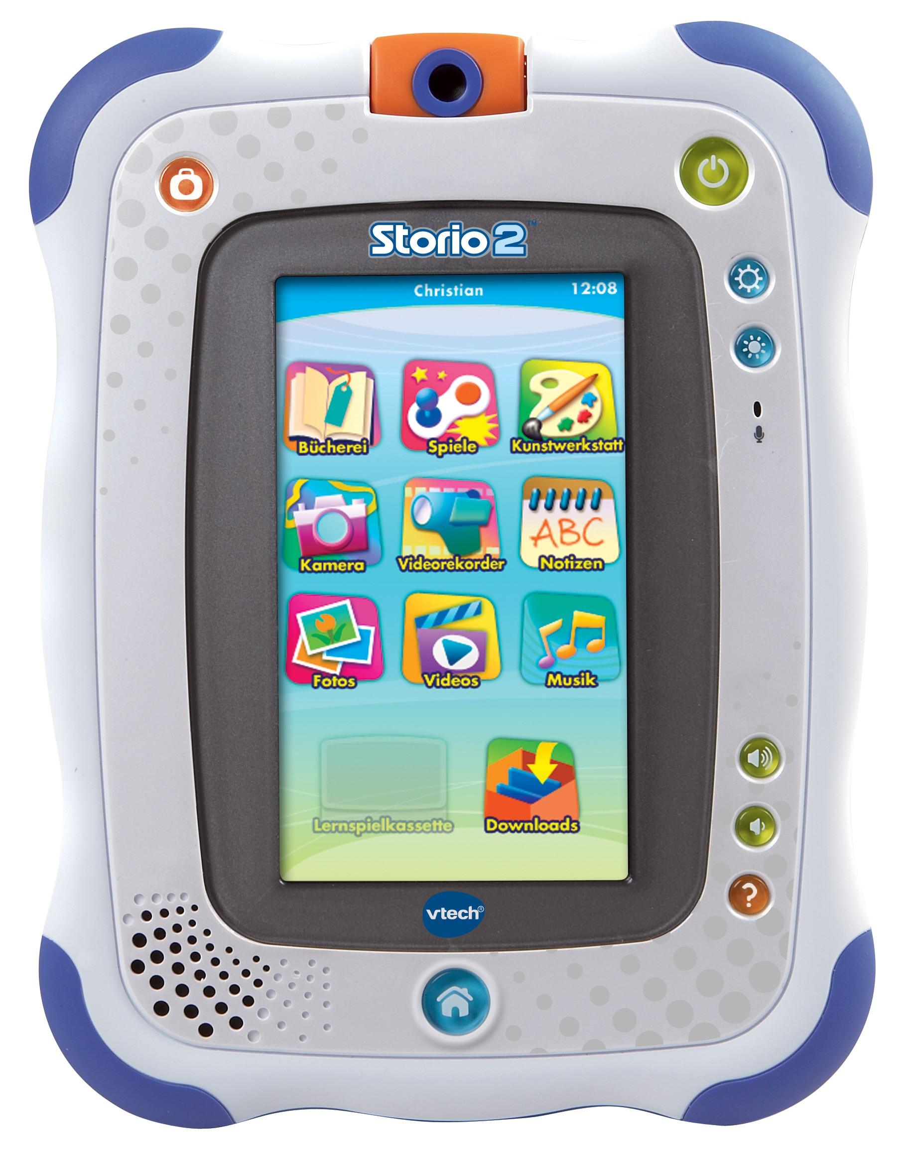 VTech Storio 2 blau Lern-Tablet für Kinder