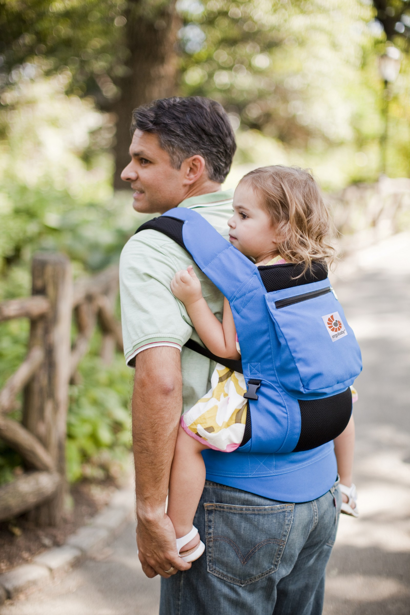 ERGObaby Performance Carrier Komforttrage Blue