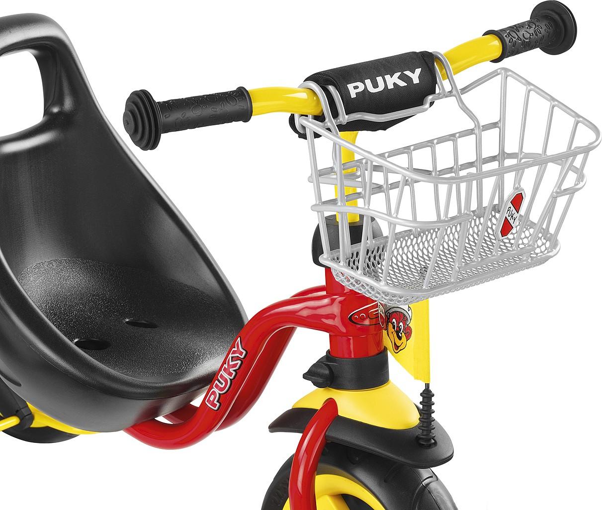 Puky Lenkerkorb silber für Dreiräder/Roller