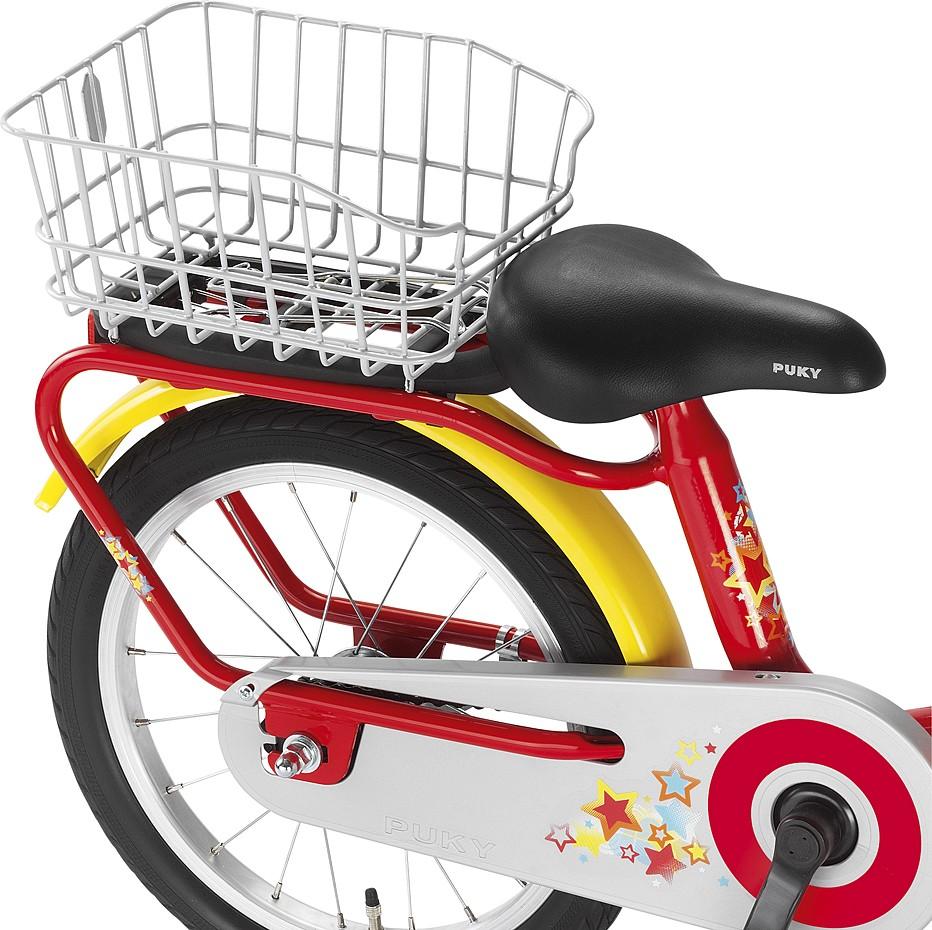 Puky Gepäckträgerkorb silber für Fahrräder der Z- und ZL-Serie, nicht Z2