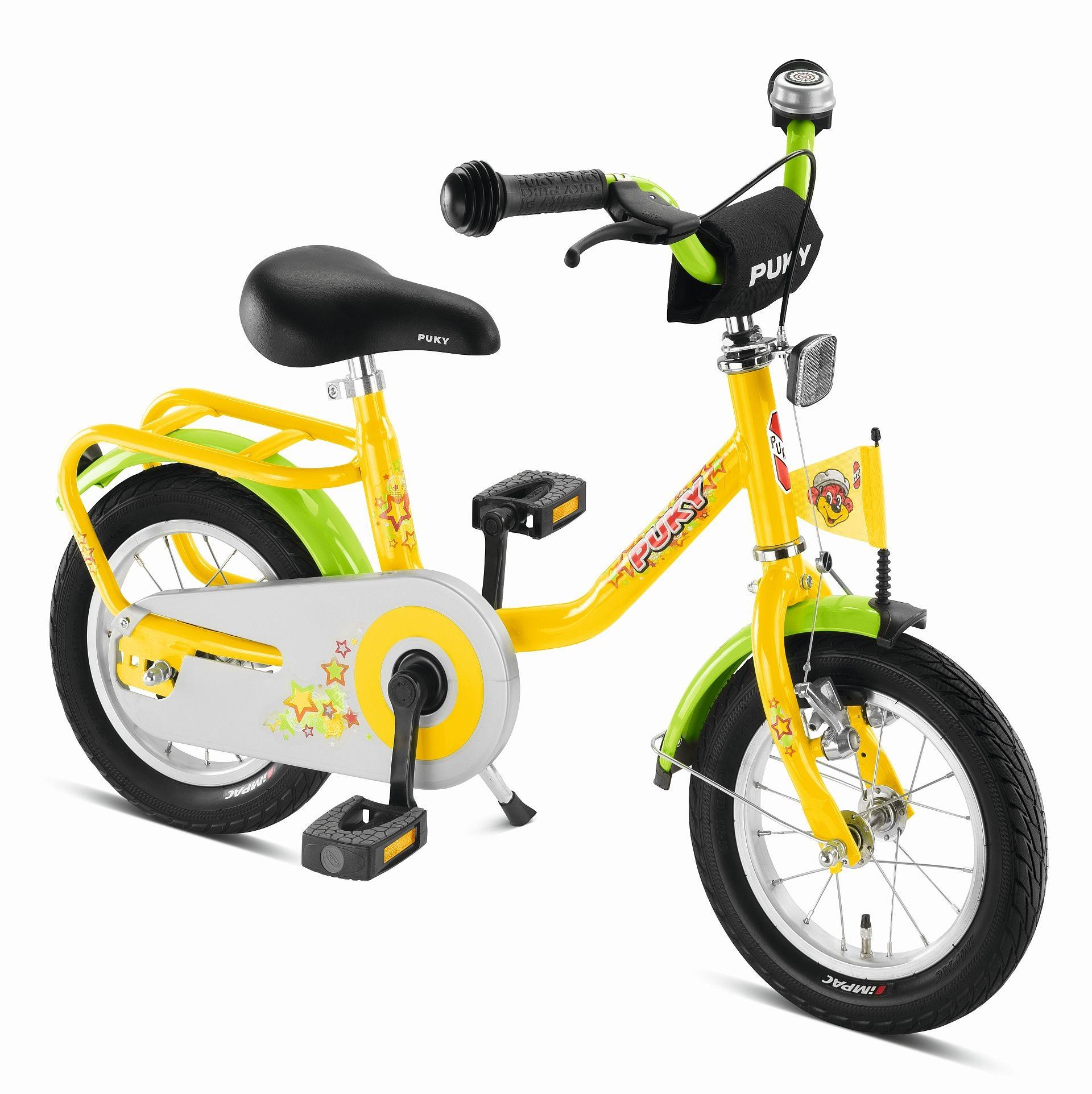 Puky Fahrrad Z2 gelb