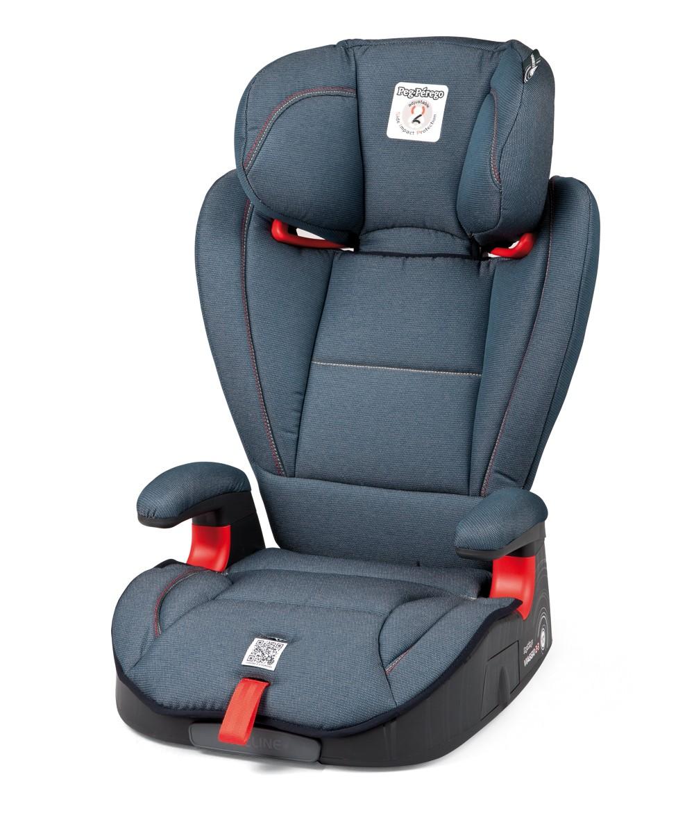 Peg Perego Kindersitz Viaggio 2/3 Surefix Denim