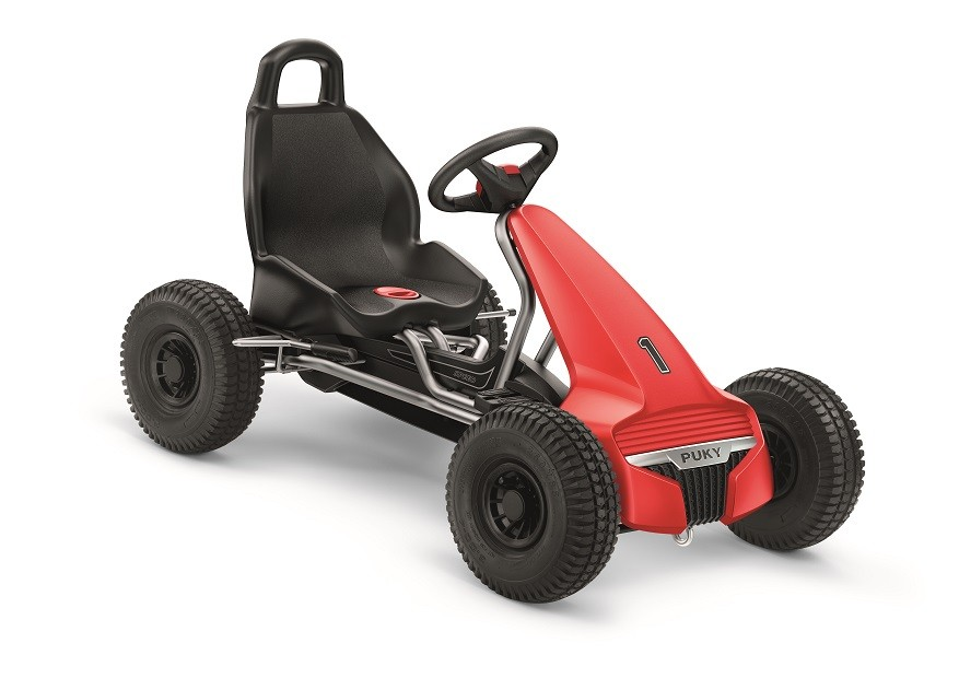 Puky Go-Cart Luft F 550 L rot/silber