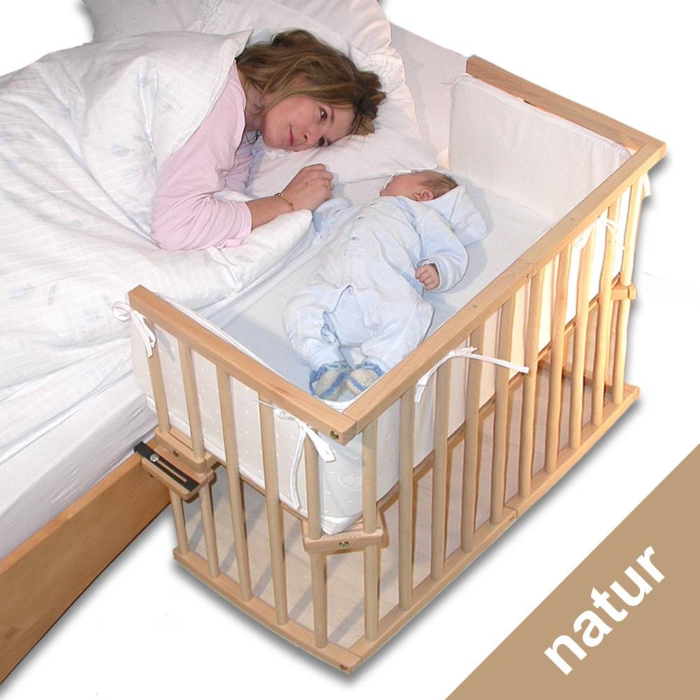 BabyBay Beistellbett Mini Natur unbehandelt