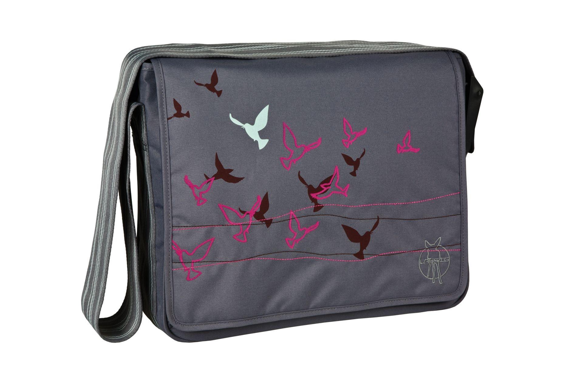 Lässig Messenger Bag Casual Flock of Birds ebony