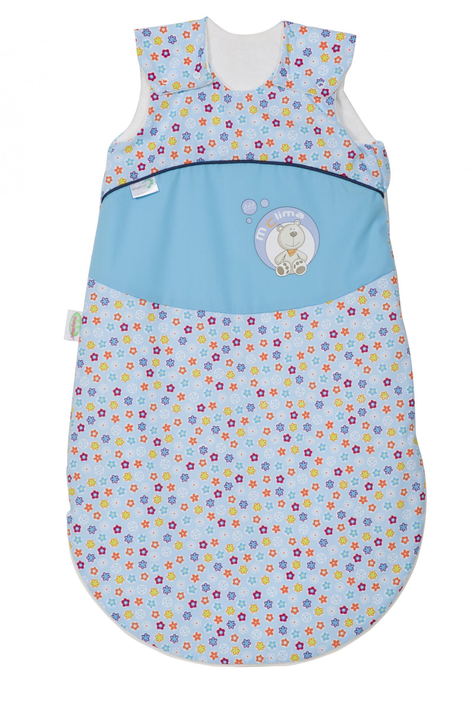 Odenwälder Baby-Schlafsack Mclima Blümchen