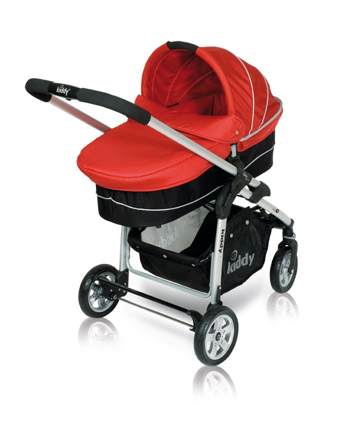 Kiddy Click`n Move Carrycot Babywanne E71 - red