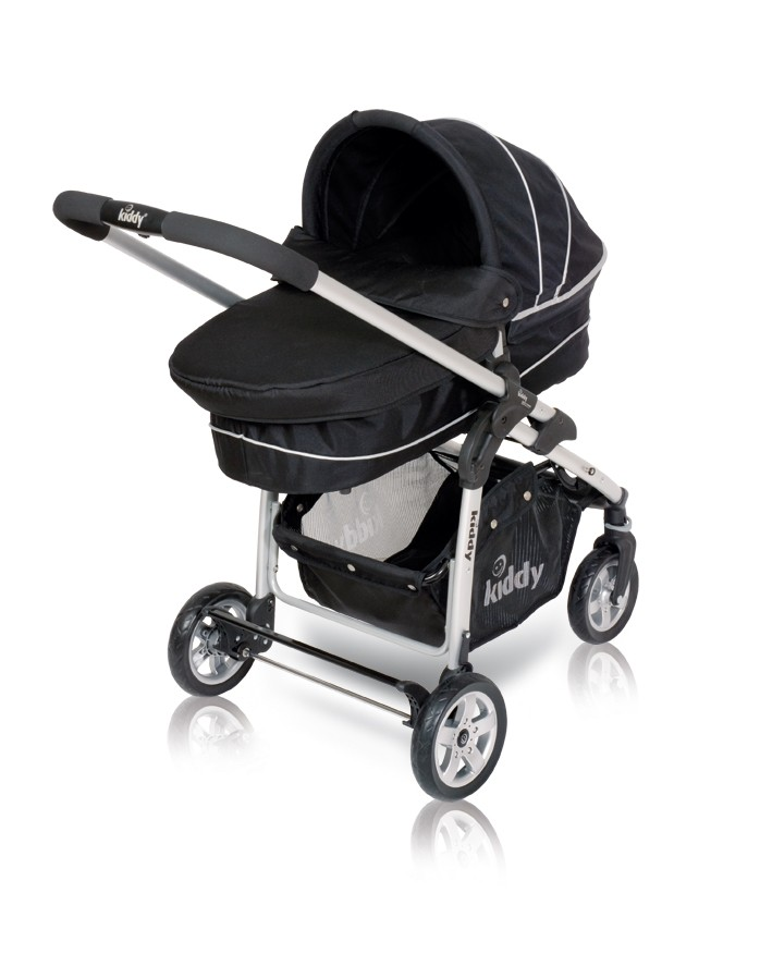 Kiddy Click`n Move Carrycot  Babywanne E77 - black