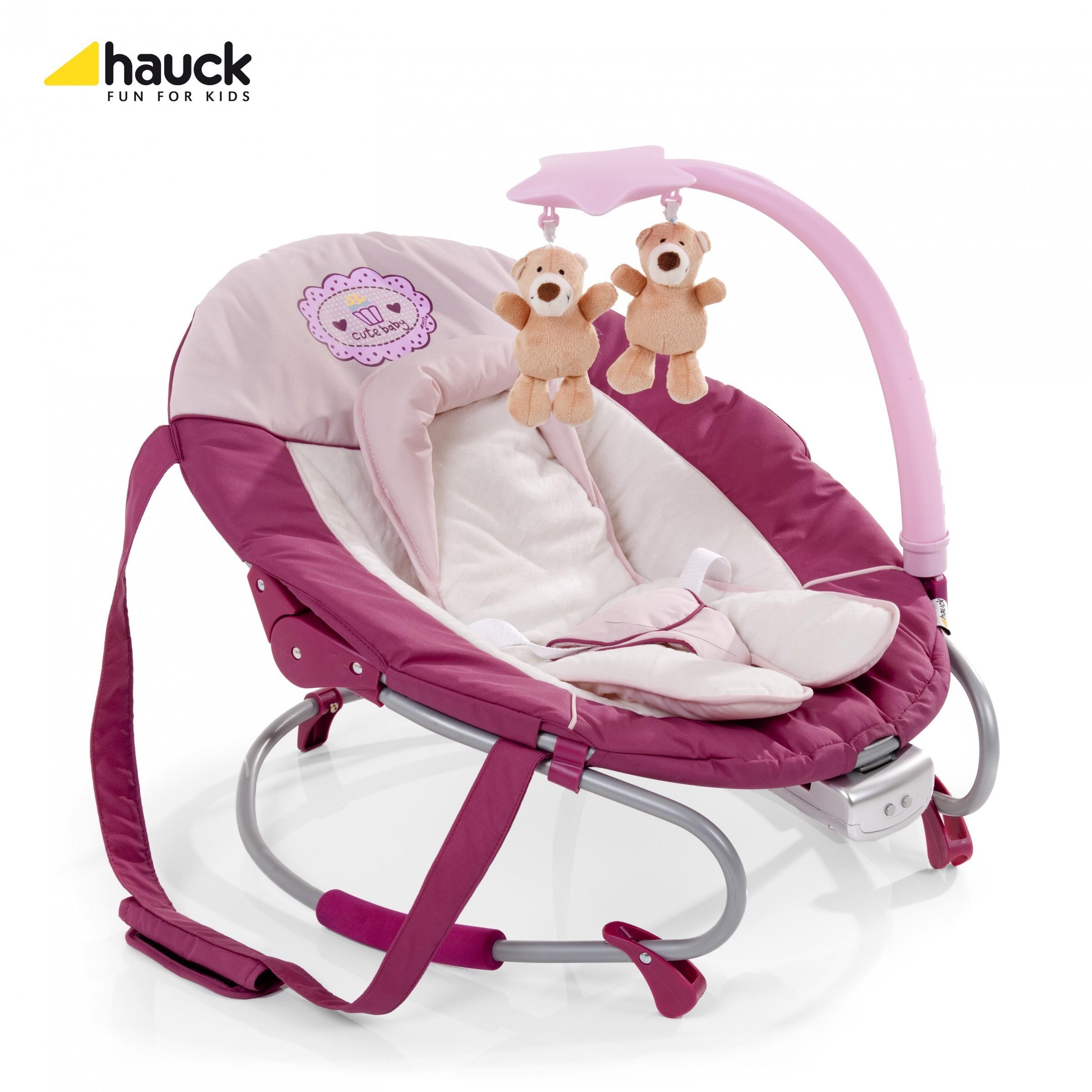 Hauck Wippe Leisure e-motion Cute Baby Ausstellungsstück