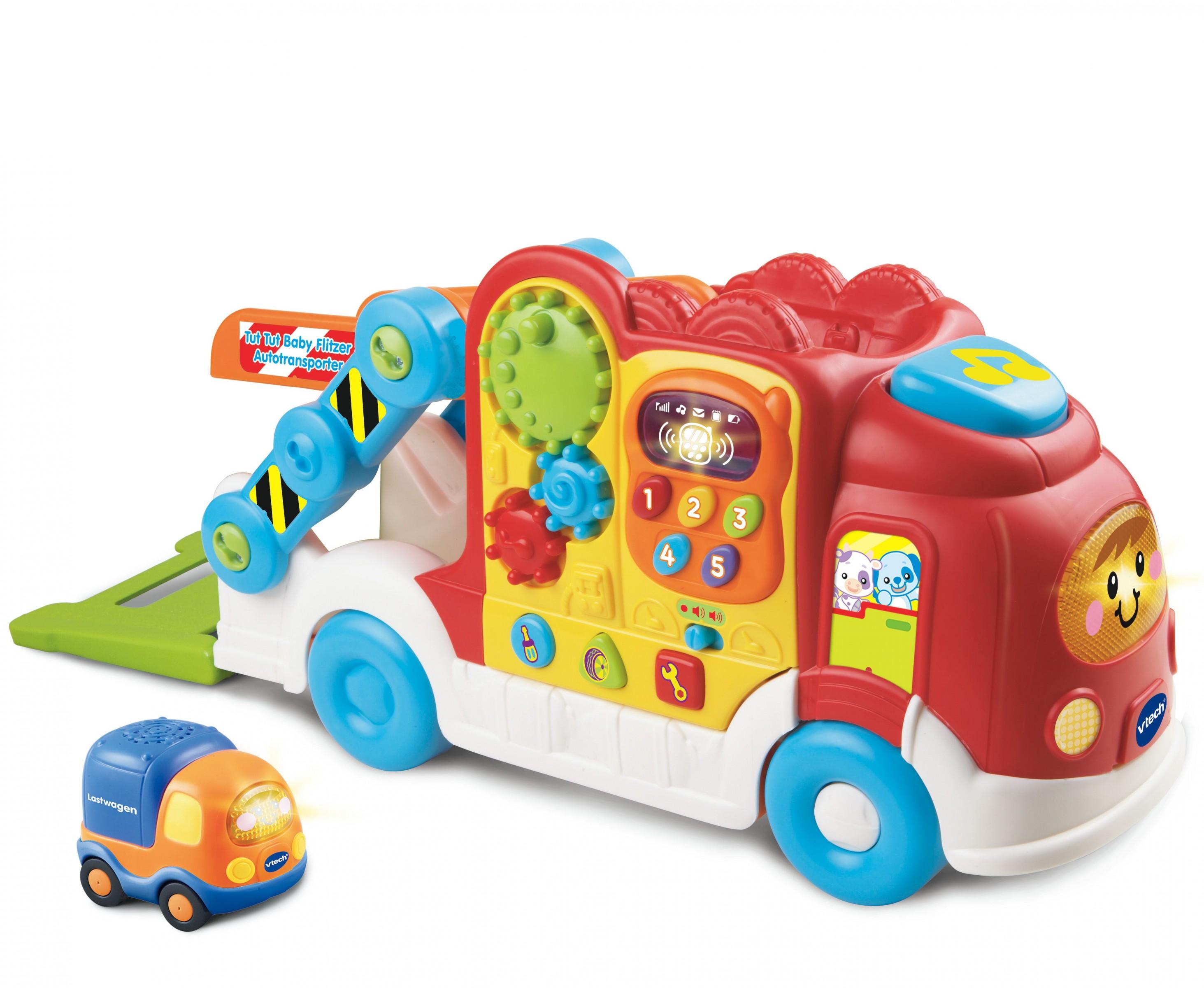 VTech Tut Tut Baby Flitzer  - Autotransporter