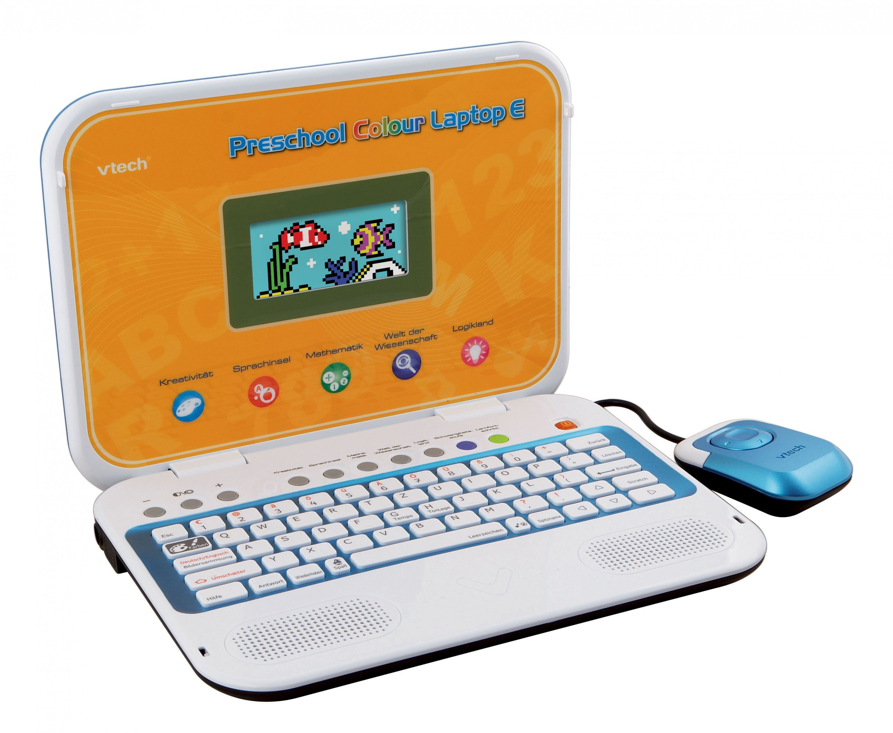 VTech Preschool Colour Laptop E