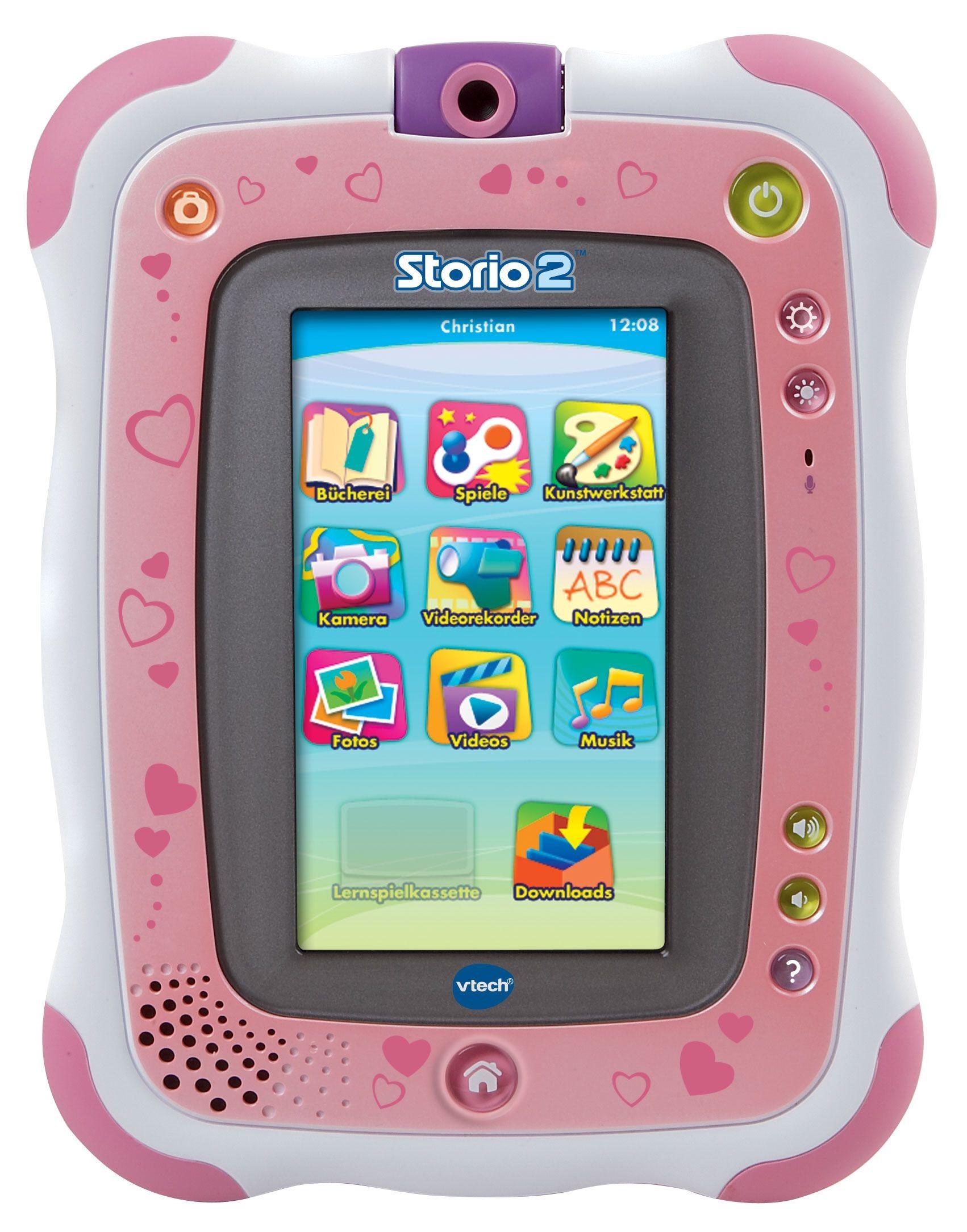 VTech Storio 2 Pink Lern-Tablet für Kinder
