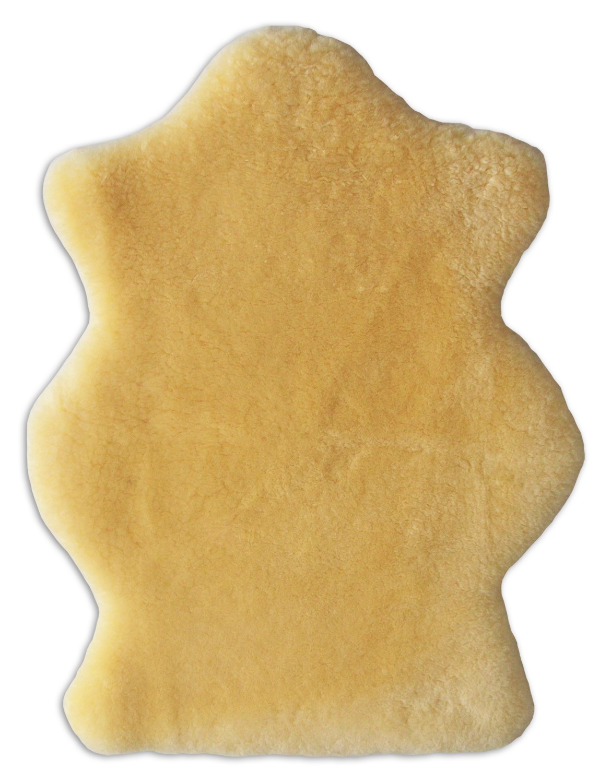 HEITMANN Baby Lammfell B-Sortierung gold-beige geschoren