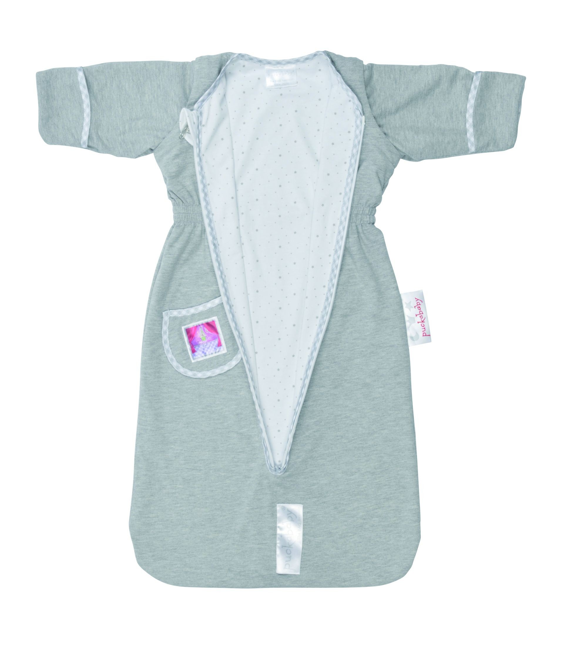 Puckababy Schlafsack The Bag Newborn Grey uni
