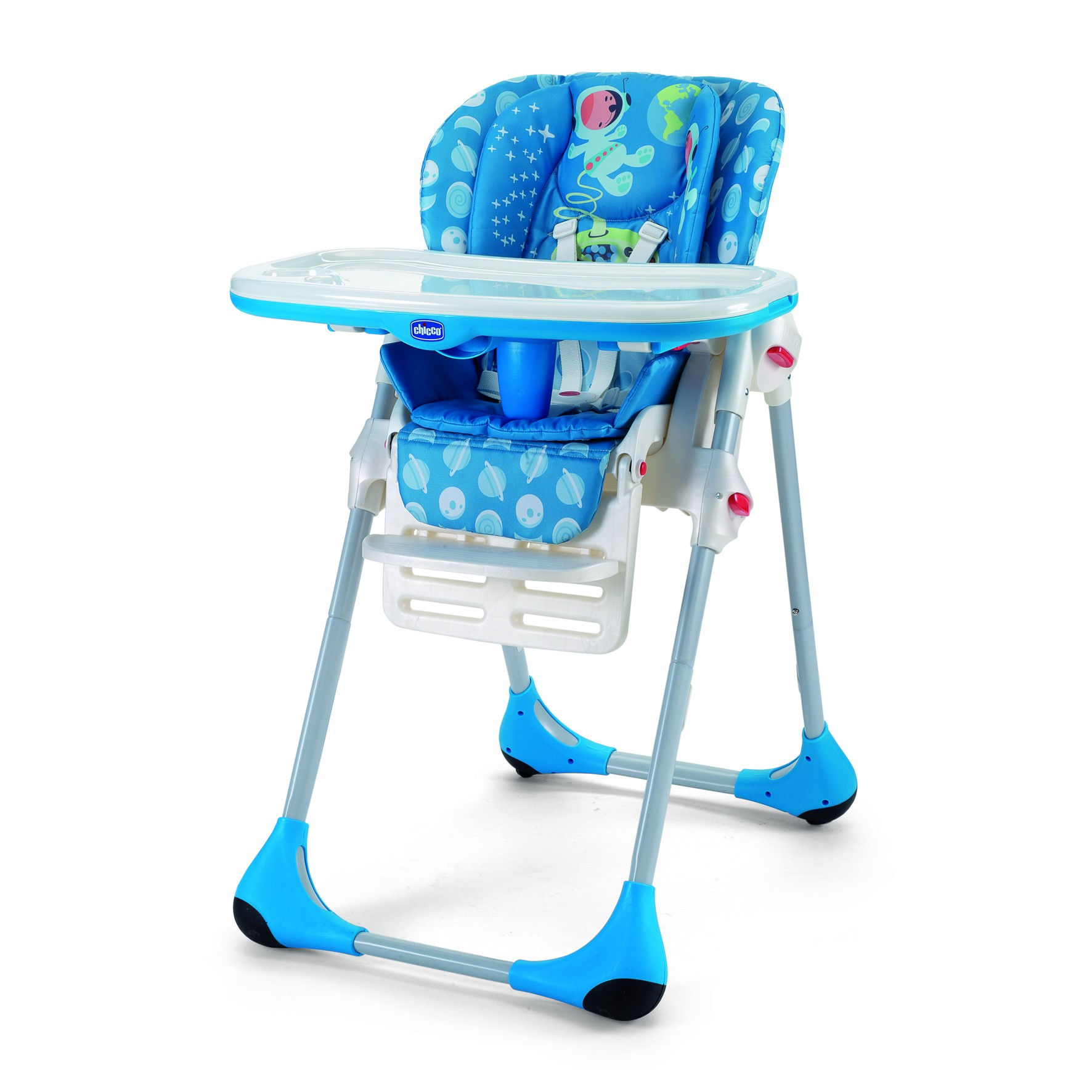 Chicco Polly Kinder-Hochstuhl 2 in 1 Moon
