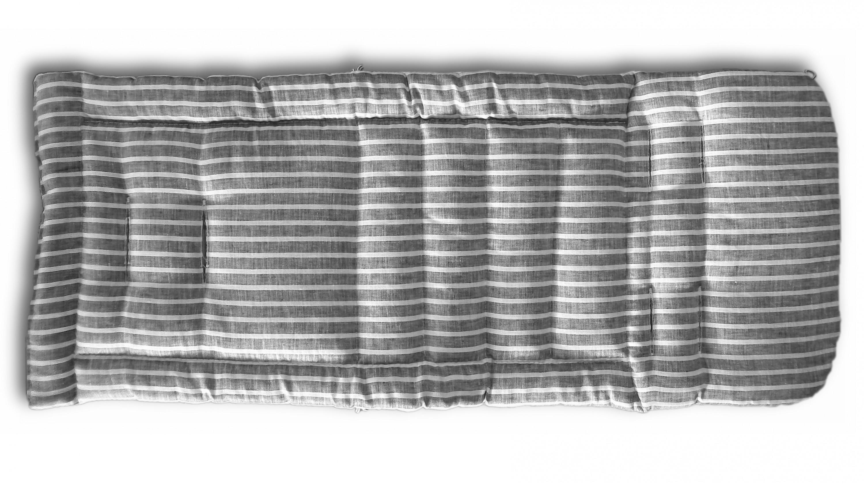 Gesslein Loop Sitzauflage 929 für Buggy S2/S5 grau-weiss gestreift