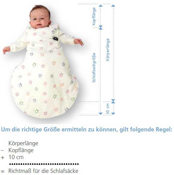 Aro Artländer Schlafsack Cosy San Vario 150 cm grau-braun-Quadrat