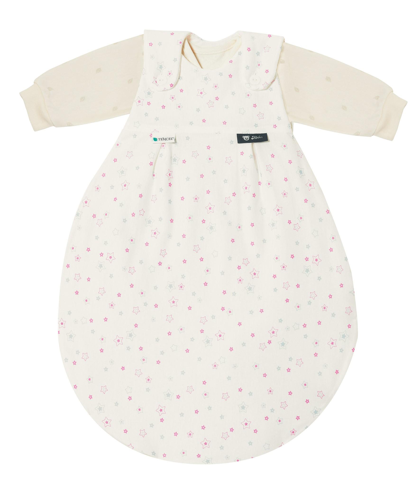 Alvi Baby Mäxchen 3tlg. Tencel Sternchen bleu/rosa 309-1