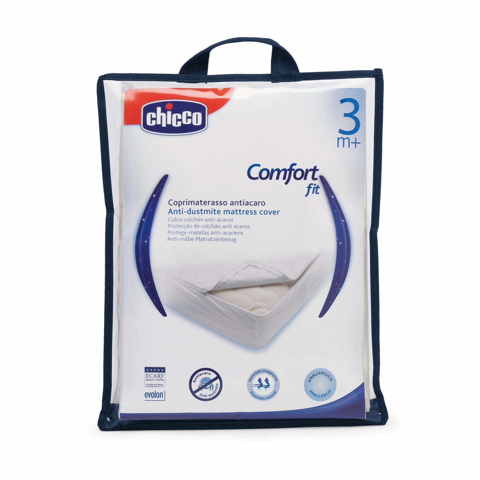 Chicco Matratzenbezug mit Milbenschutz, antiallergisch