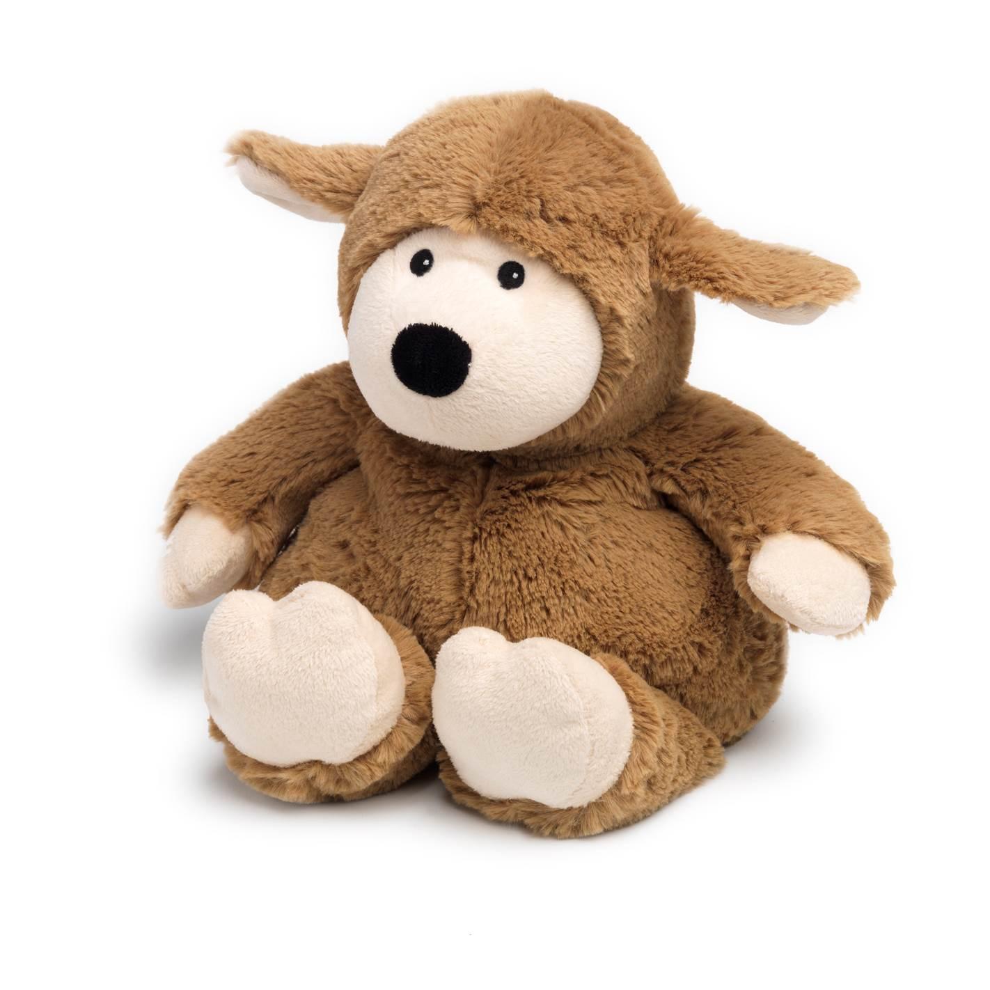 Warmies Beddy Bears Schaf hellbraun