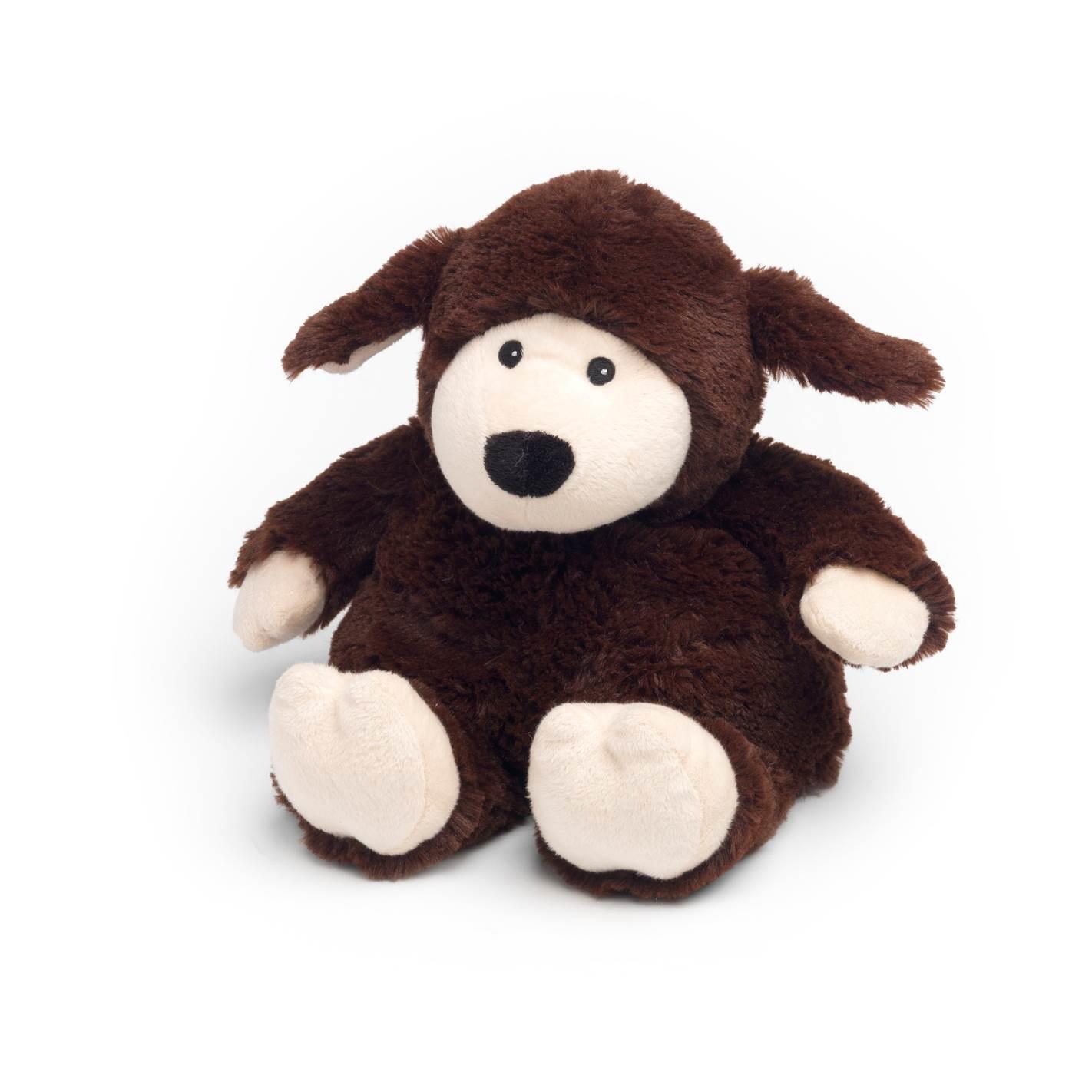 Warmies Beddy Bears Schaf dunkelbraun