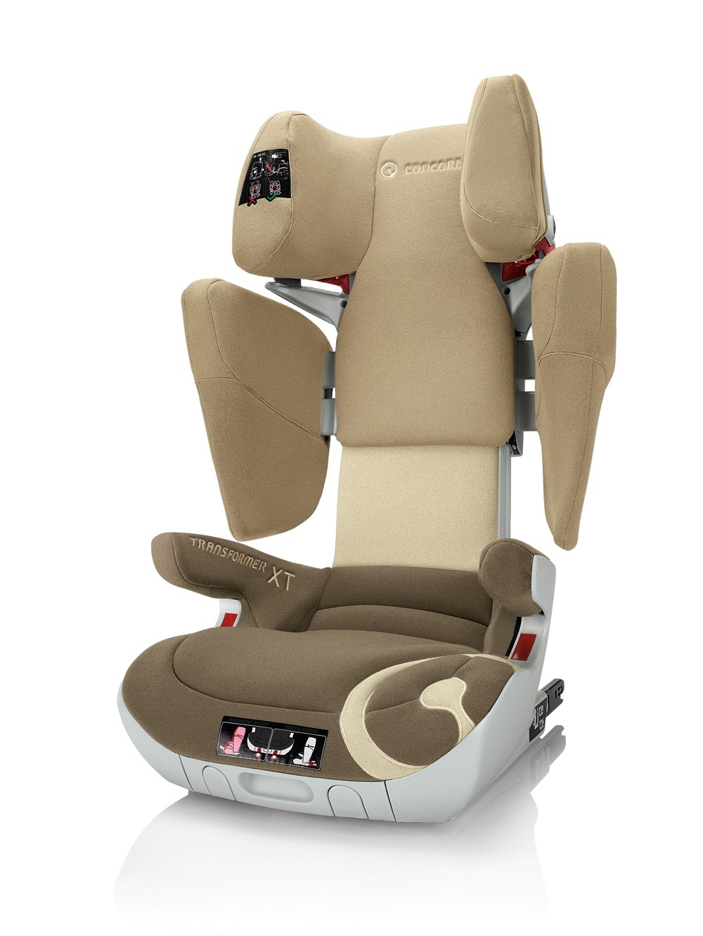 Concord Kinderautositz Transformer Isofix-XT Honey Beige