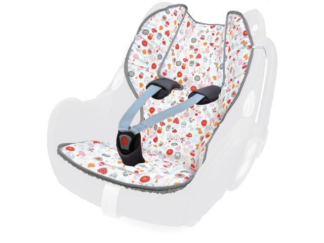 Priebes Sitzauflage Oskar mit Klettverschluss für Babyschale