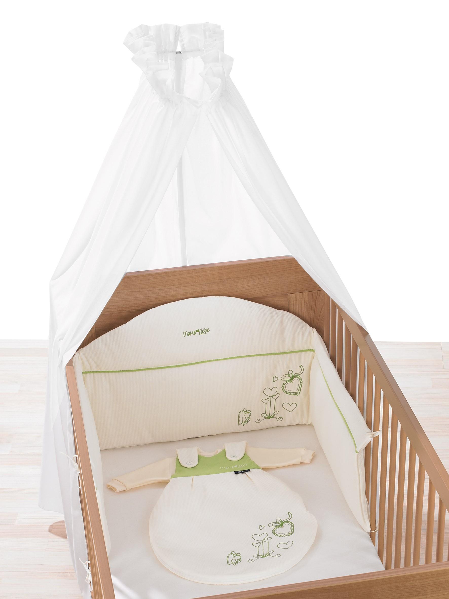 alvi schlafumgebungsset himmel voile nestchen und m xchen mamaliebe g nstig und sicher kaufen. Black Bedroom Furniture Sets. Home Design Ideas