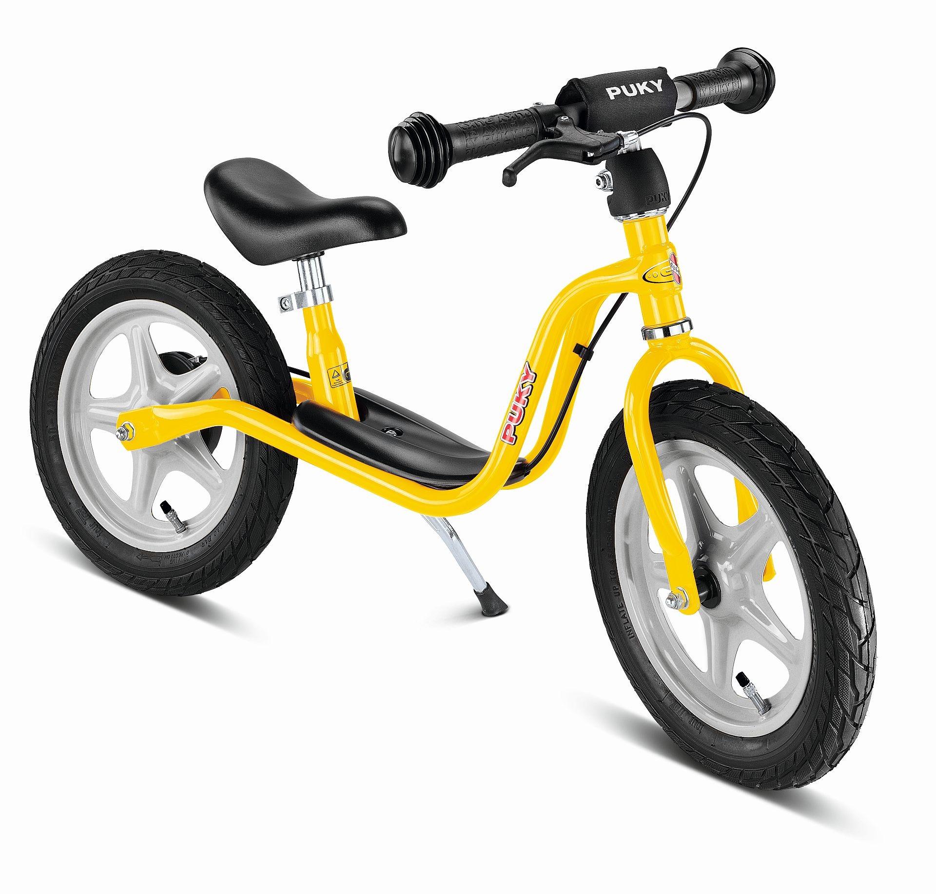 Puky Laufrad Standard mit Bremse gelb