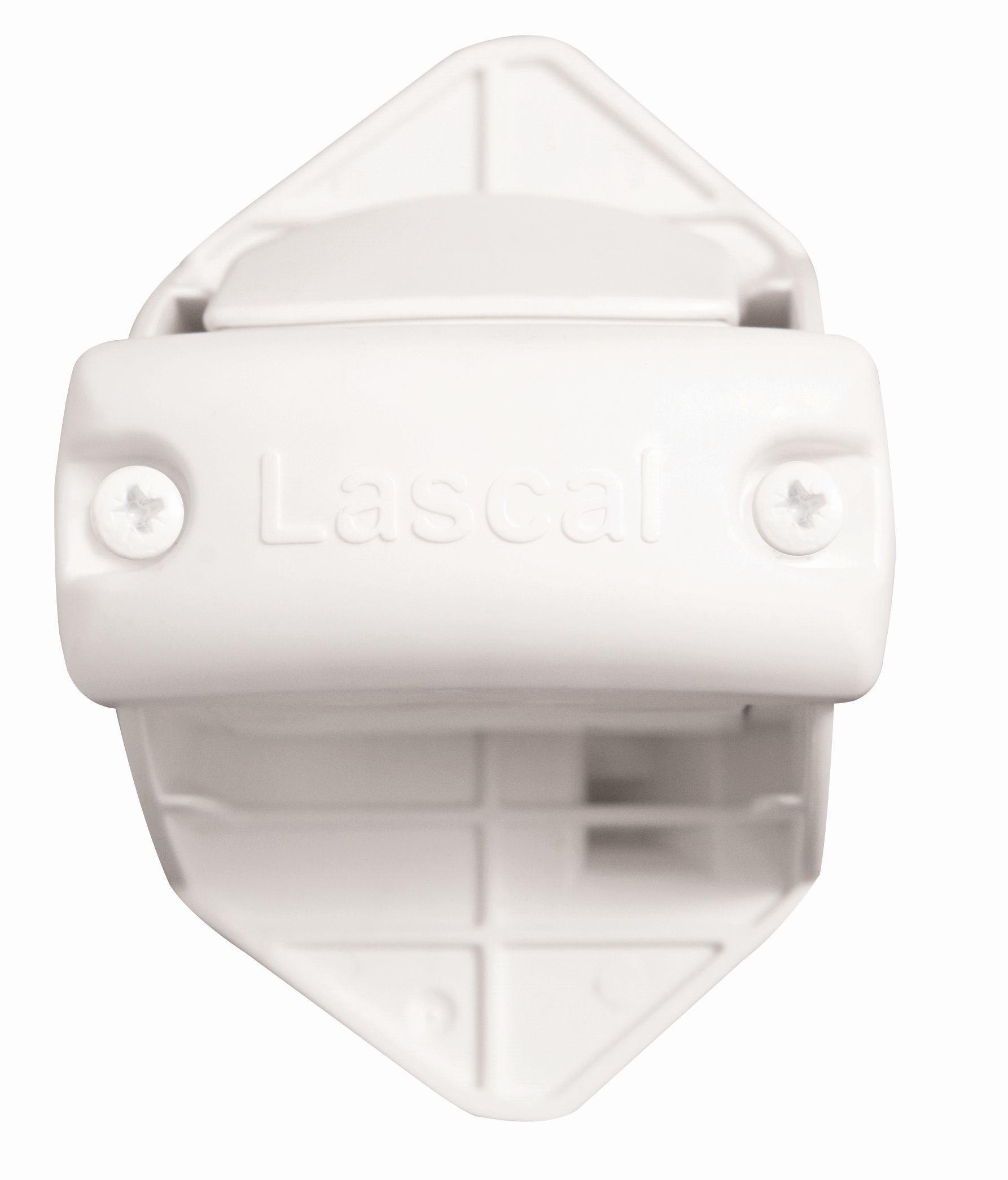 Lascal KiddyGuard Rohrhalterungen Schliessleiste 3erSet weiß