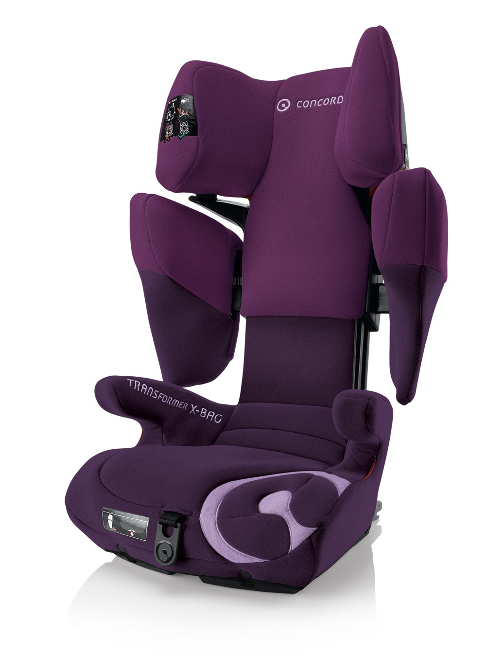 Concord Kinderautositz Transformer X-Bag Plum Purple