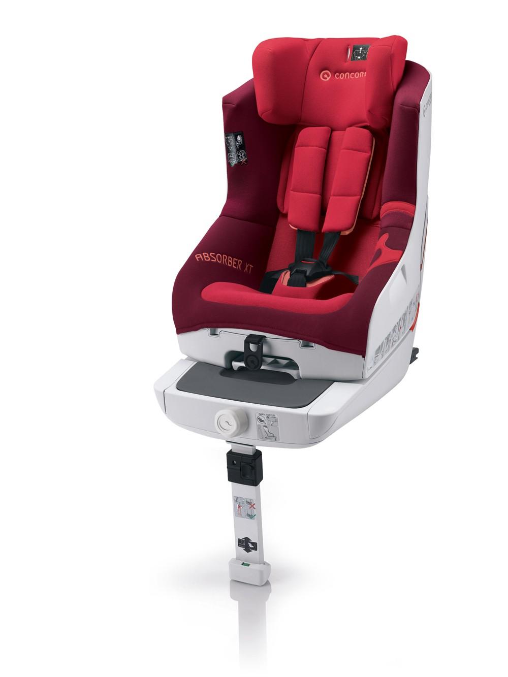 CONCORD Kindersitz Absorber XT Lava Red