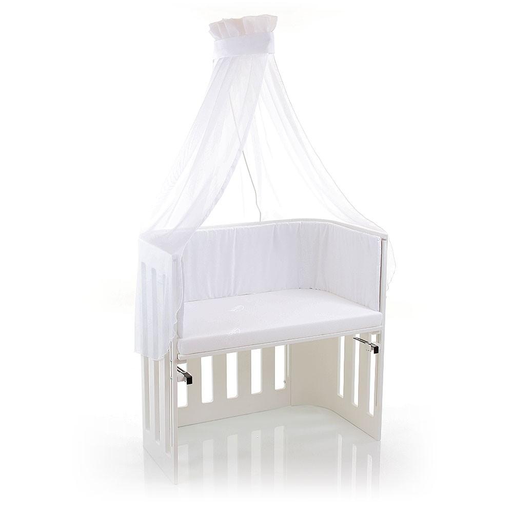 Babybay Himmel für Beistellbett weiß