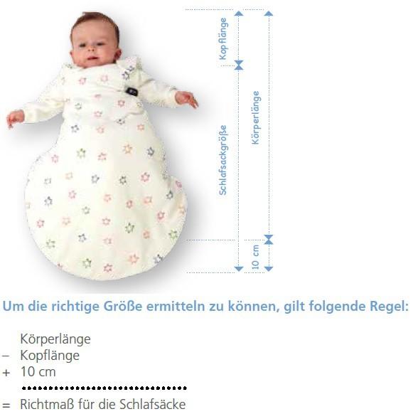 BABY-PLUS Schlafsack blau Sommer/Winter, 2tlg. Gr. 50/56
