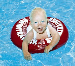 FREDS SWIMTRAINER Classic Dess. rot (3 Monate bis 4 Jahre)