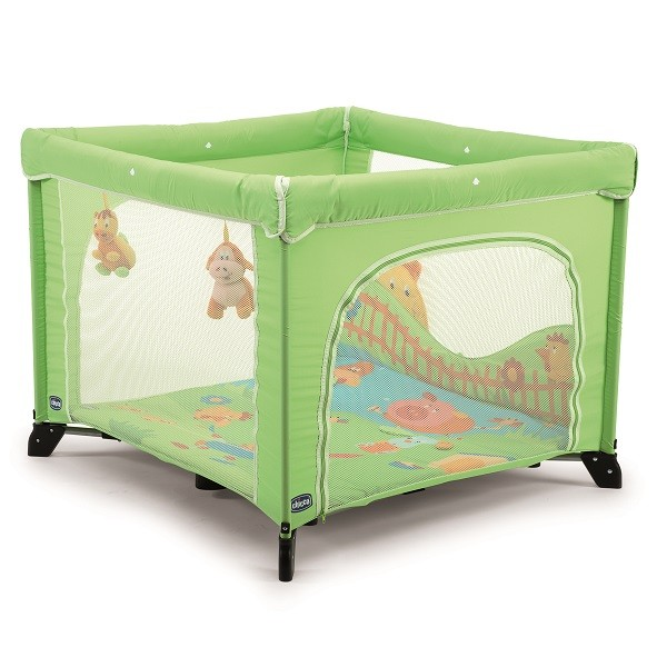 Chicco Laufstall Chicco open green