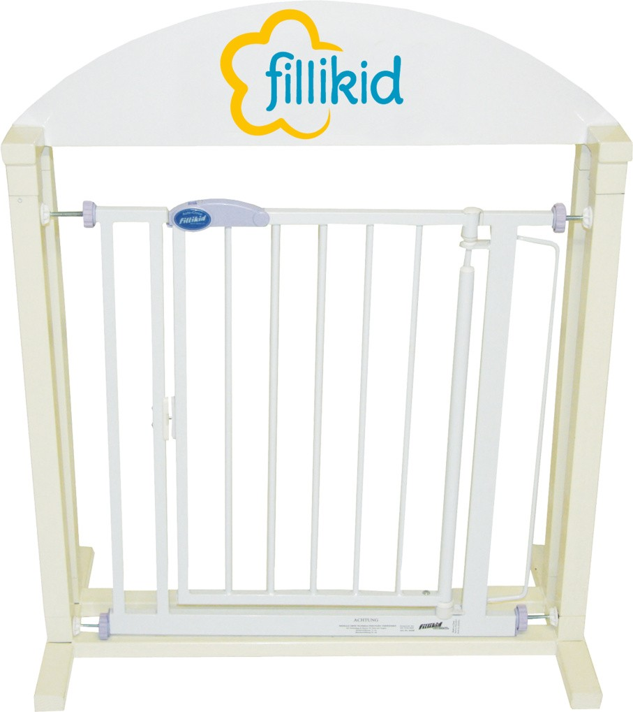 Fillikid Türschutzgitter Auto-Close weiß 44240