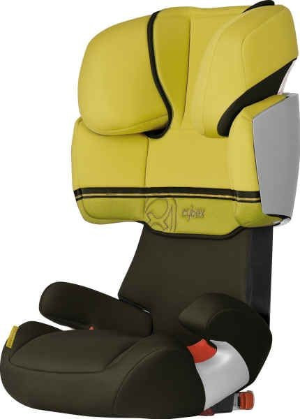 Cybex Kinderautositz Solution X-Fix Lime yellow/green