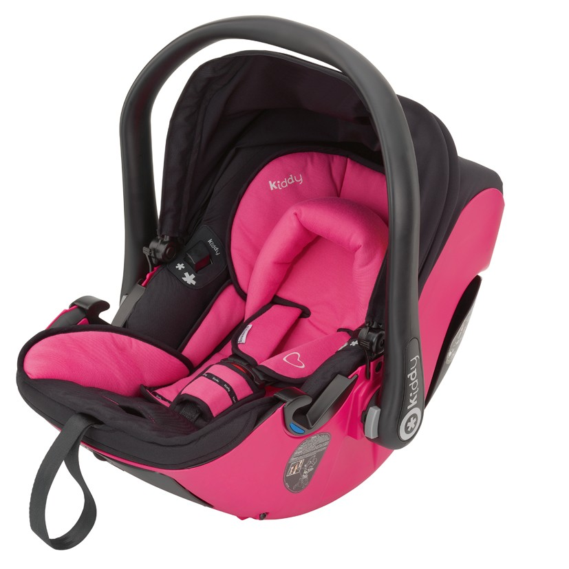 Kiddy Babyschale evolution pro 2 pink 052