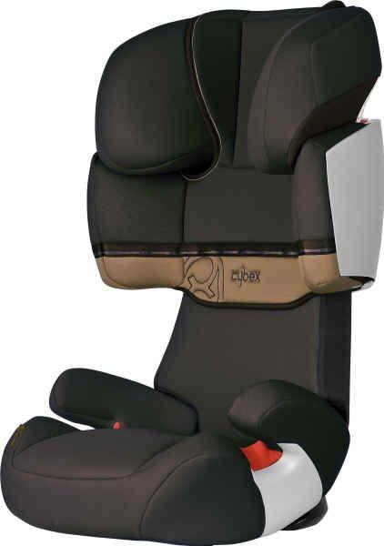 Cybex Solution X Cinnamon brown/dark brown Kinder-Autositz