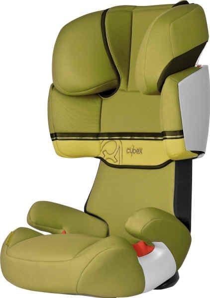 Cybex Solution X Lime yellow/green Kindersitz
