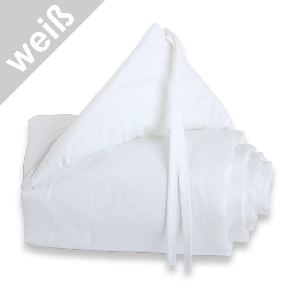 Babybay Nestchen weiß/weiß für Beistellbett mini/midi