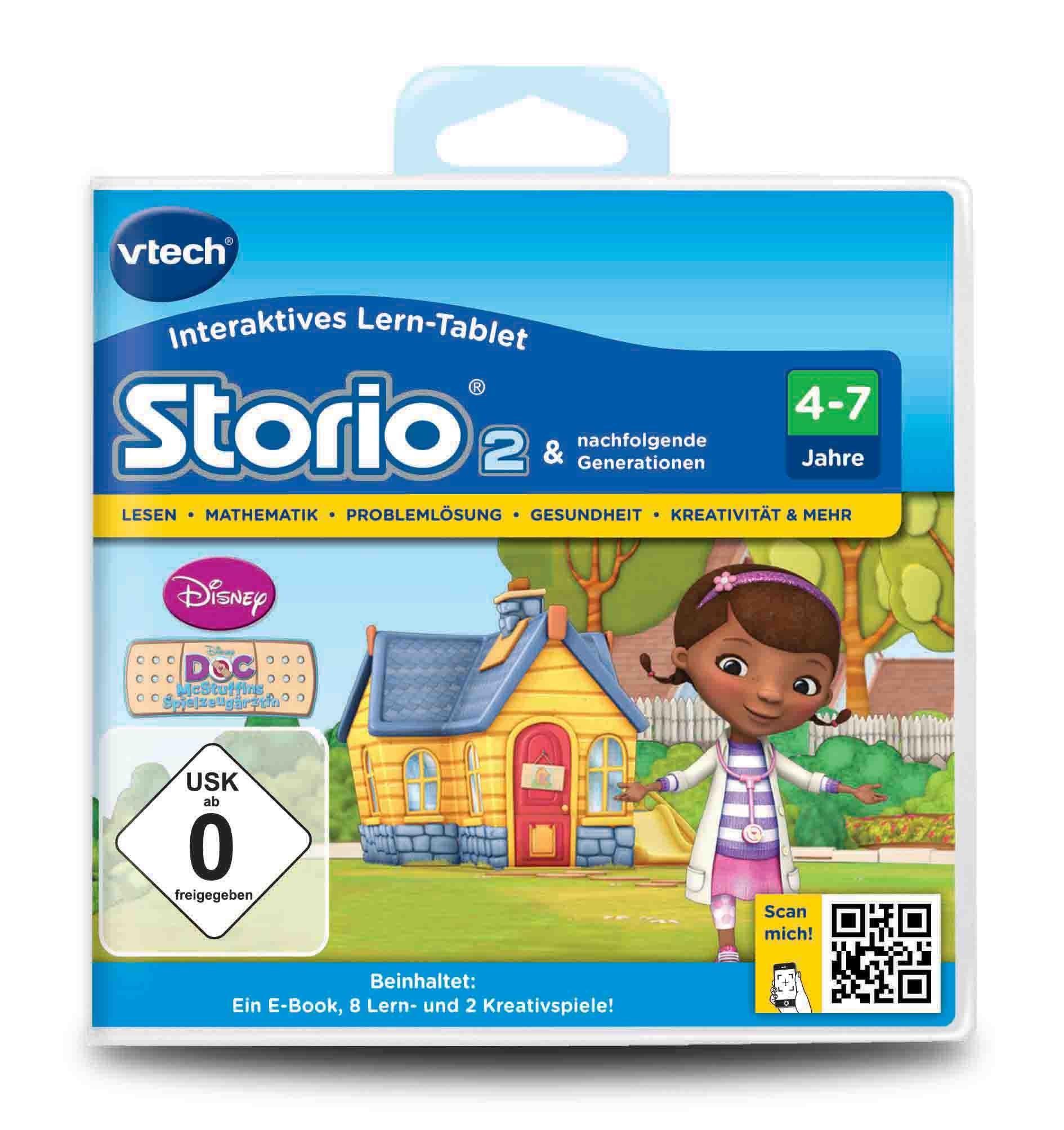 VTech Storio 2 Lernspiel Spielkassette Doc McStuffins
