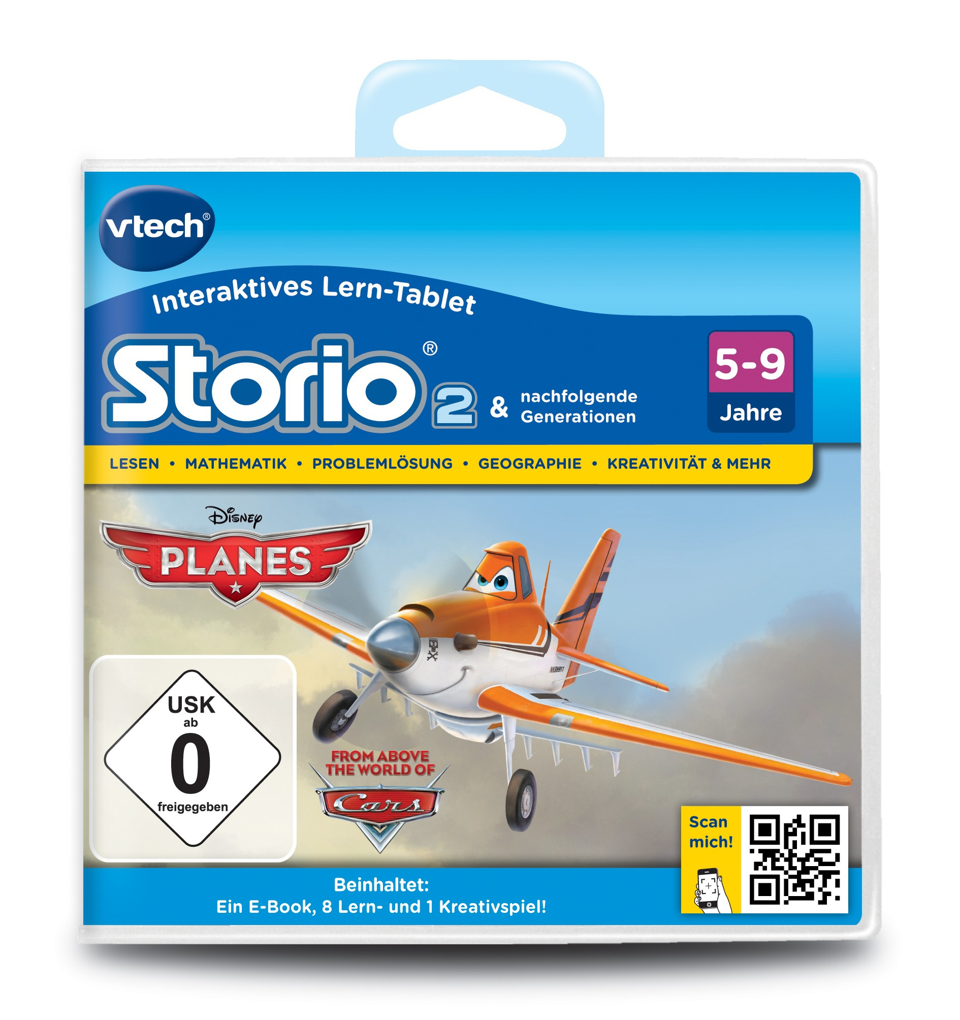 VTech Storio 2 Lernspiel Spielkassette Planes