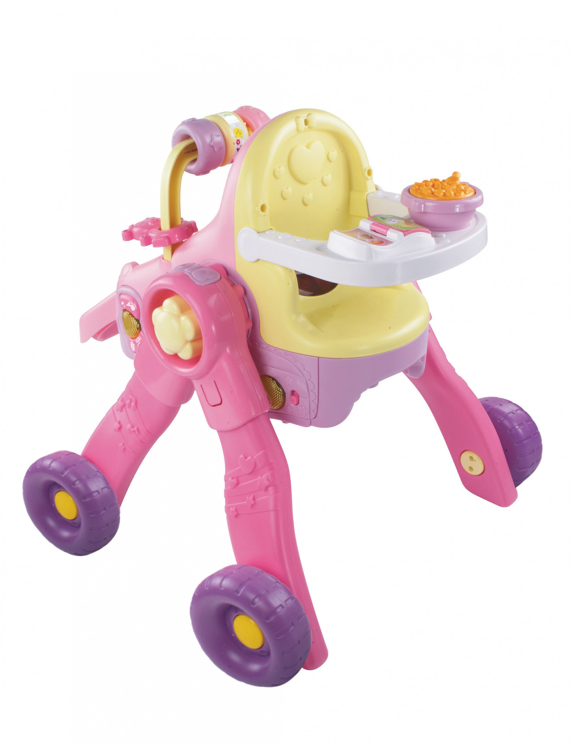 VTech Little Love 3 in 1 Magischer Puppenwagen