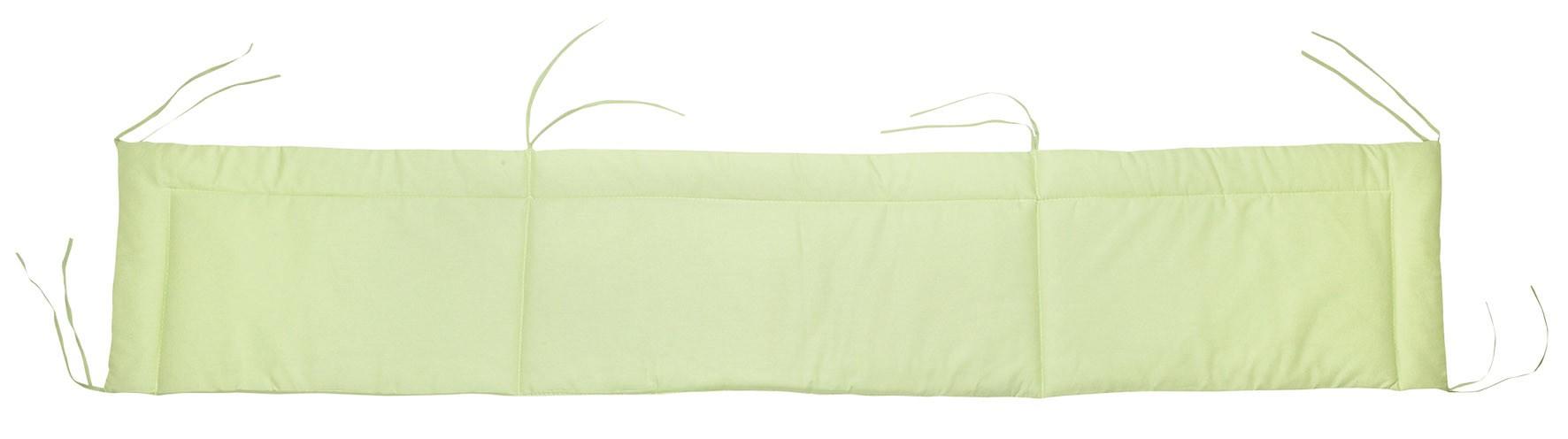 Alvi Nestchen für Beistellbett Farbe uni grün