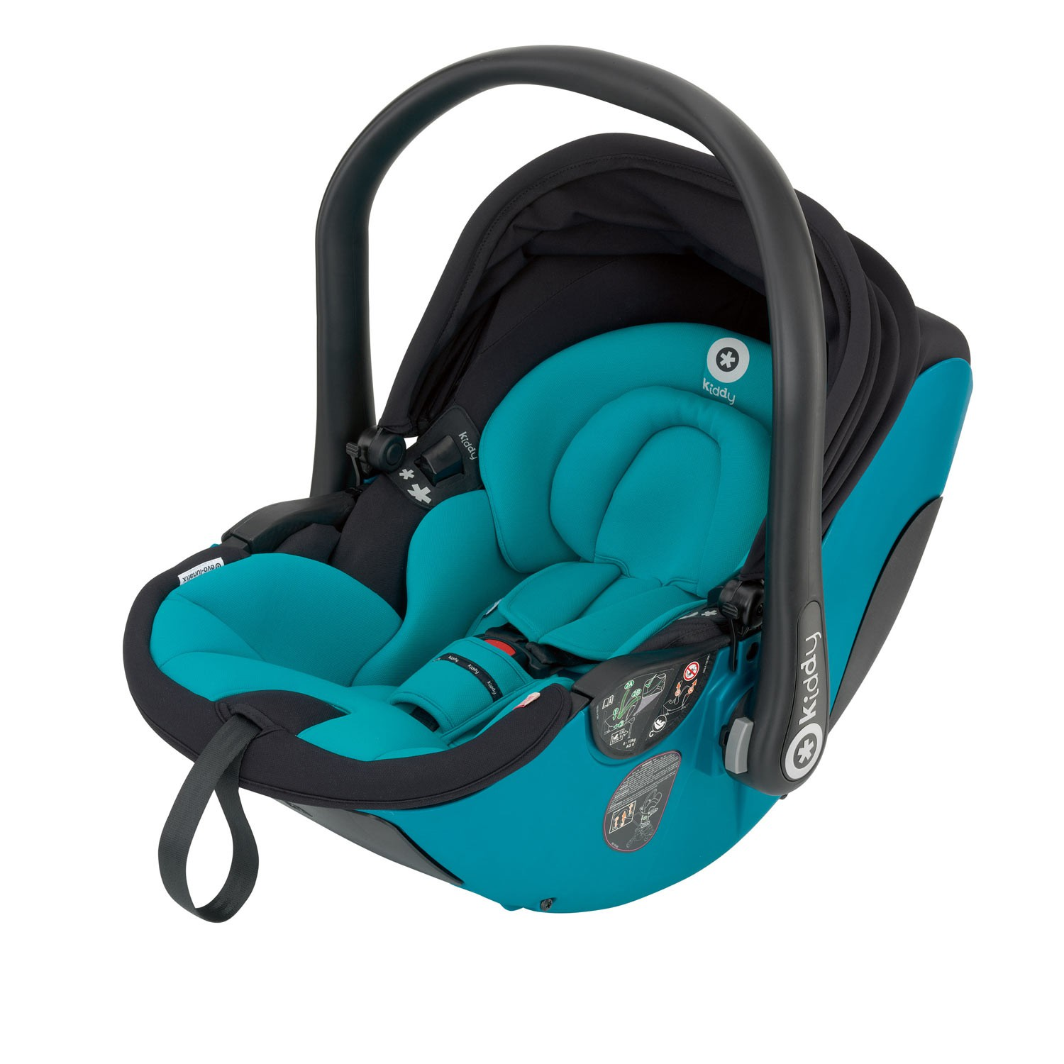 Kiddy Babyschale evo-lunafix 024 hawaii inkl. Isofix Base 2