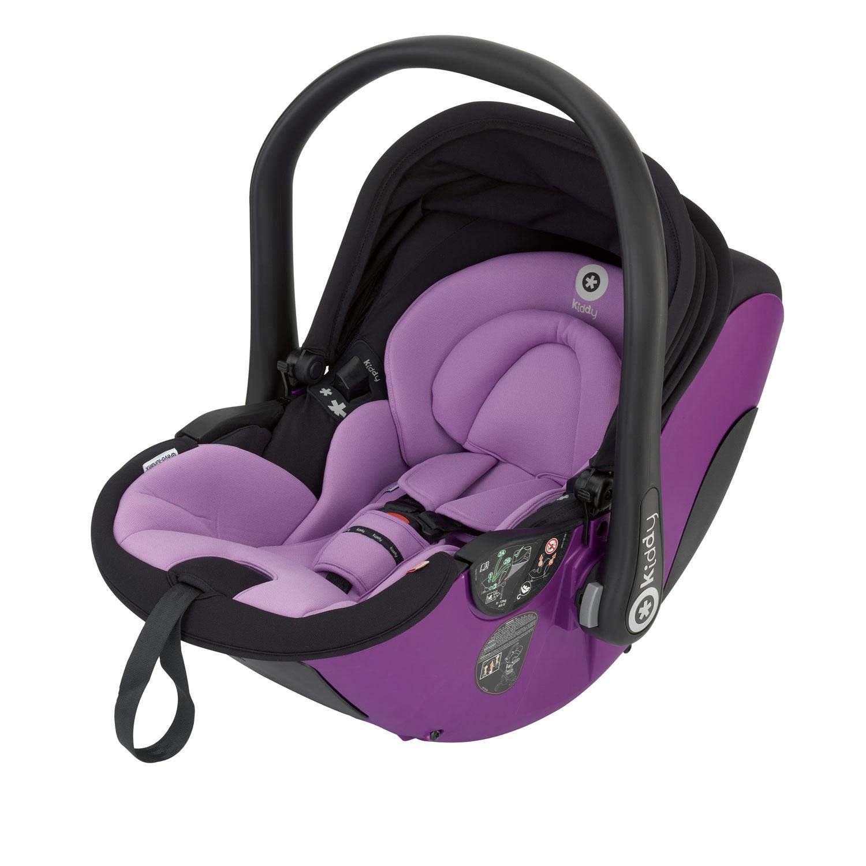 Kiddy Babyschale evo-lunafix 045 lavender inkl. Isofix Base 2