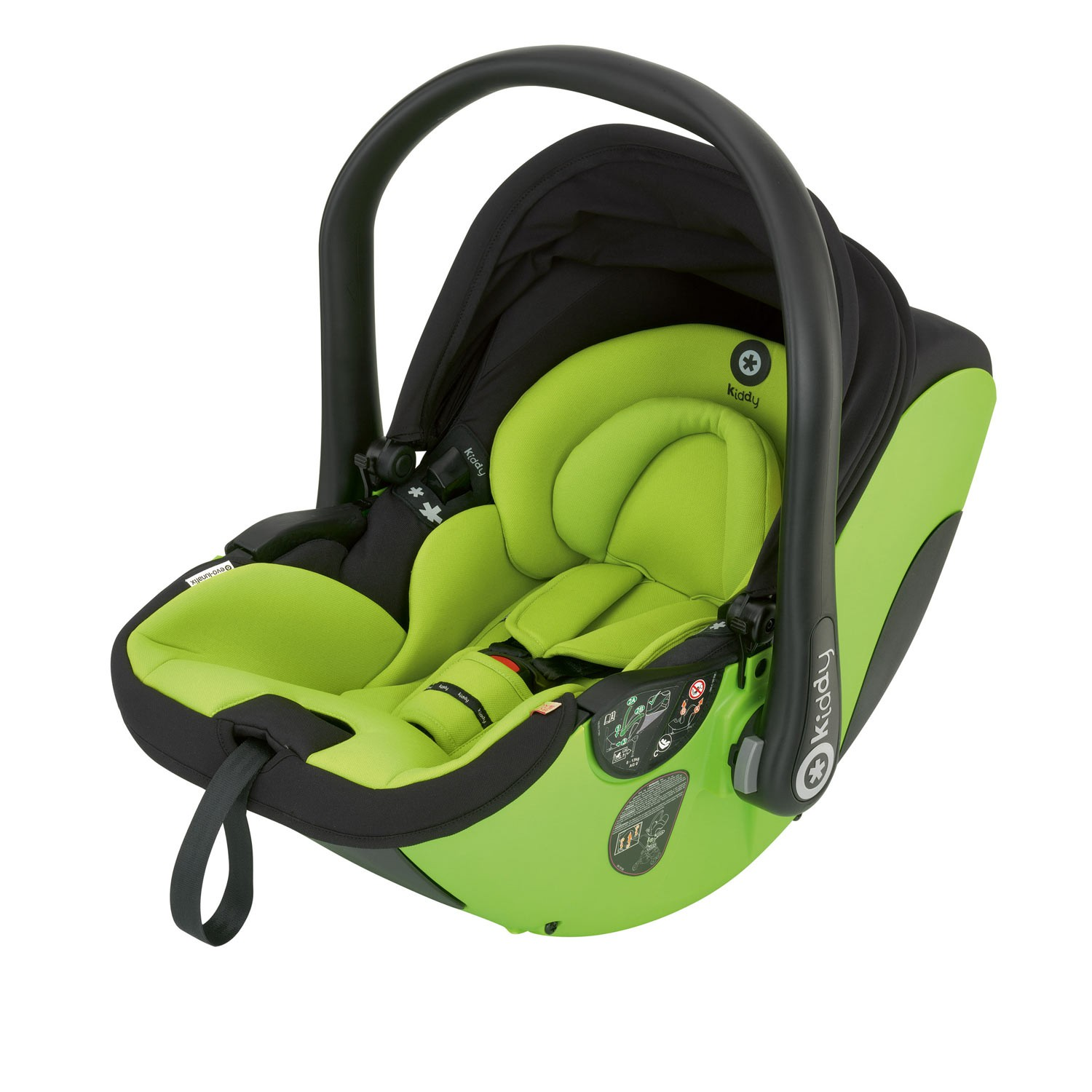 Kiddy Babyschale evo-lunafix 092 apple inkl. Isofix Base 2